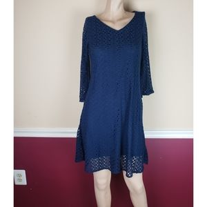 Always indigo navy blue  dress size P/S